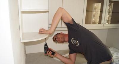 Abbau Möbel