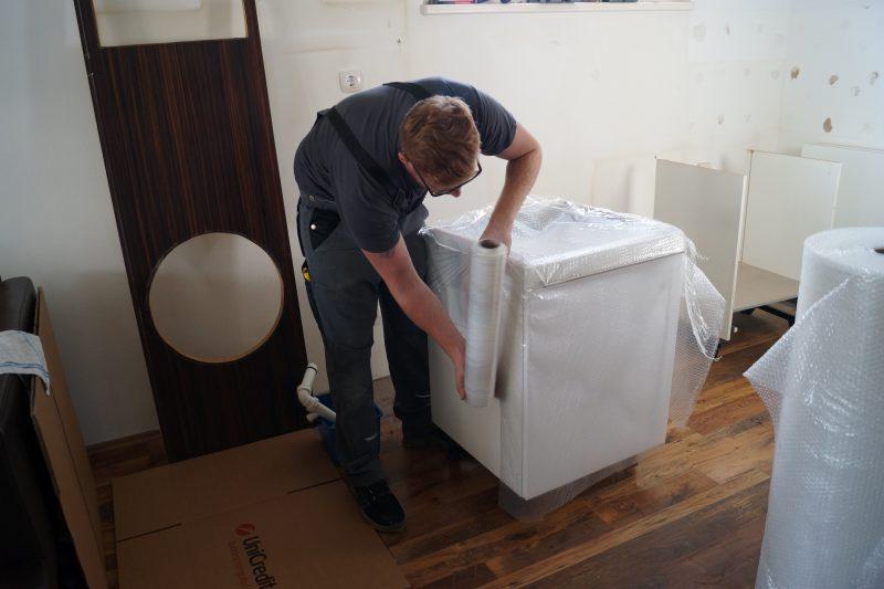 Küchenkasten einfolieren