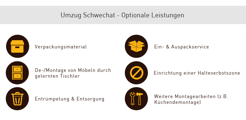 Umzug Schwechat optional